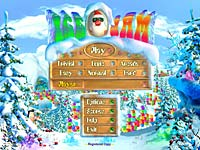 Ice Jam Game Santa Puzzle Arcade Christmas